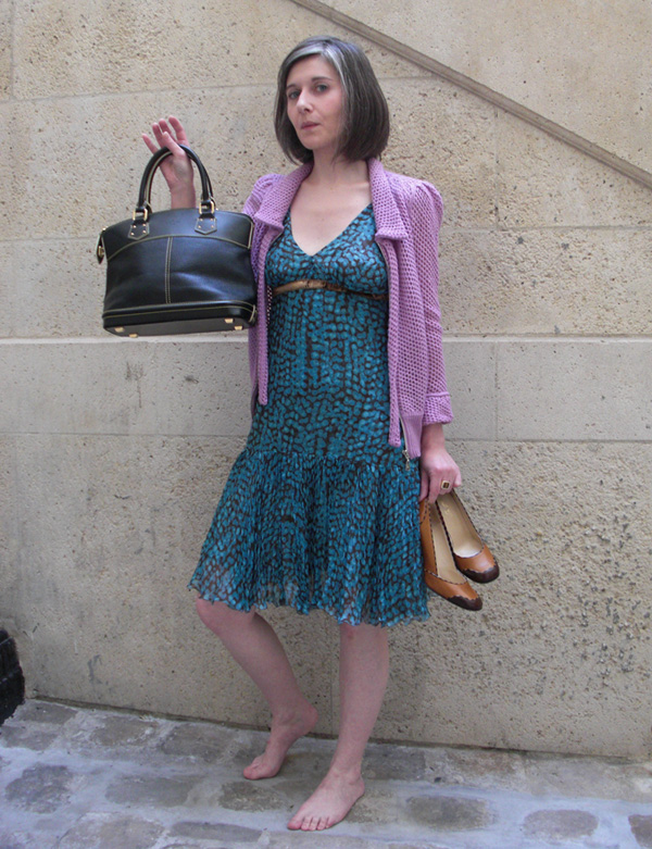 Robe_Vuitton_turquoise_dressing