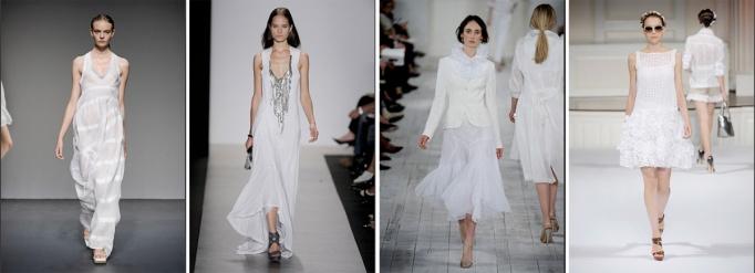 Calvin Klein, BCBG, Ralph Lauren, Oscar de la Renta