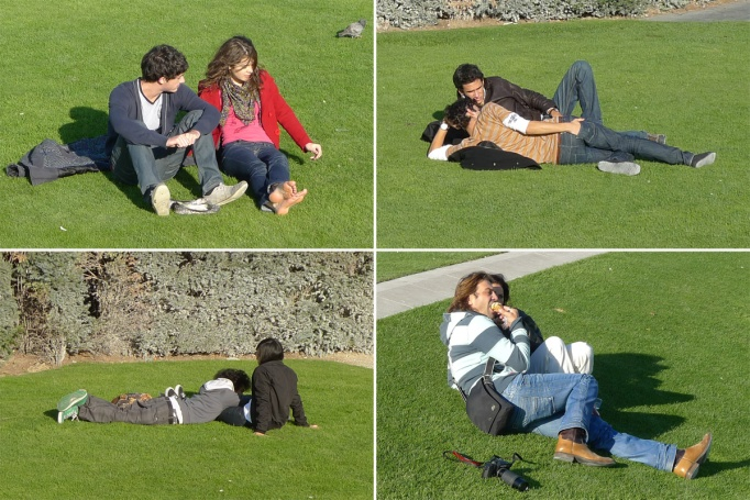 12-Tuileries_couples_herbe