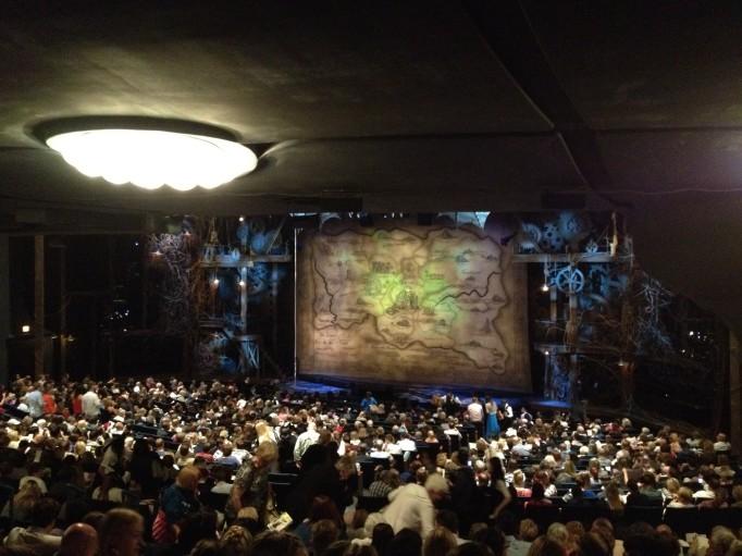 Wicked, Gershwin Theatre, juste avant le début du spectacle.