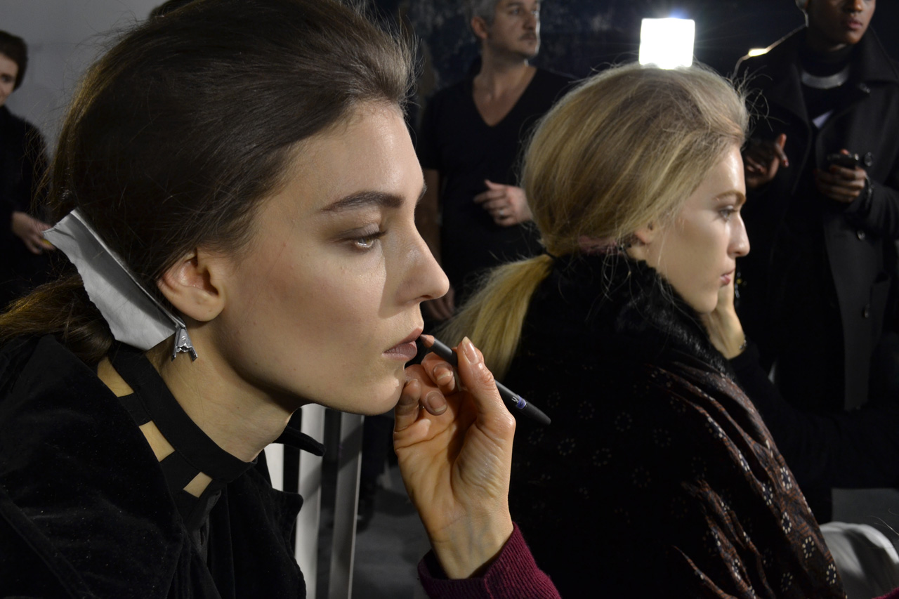 LOEWE-AH-2013-BACKSTAGES-Pierre-Christophe-Gam-ChicandGeek-0071