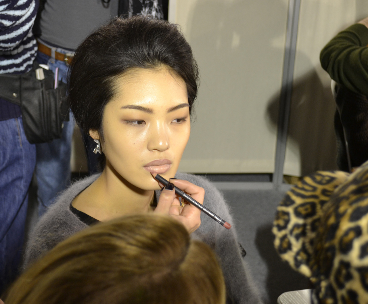 LOEWE-AH-2013-BACKSTAGES-Pierre-Christophe-Gam-ChicandGeek-0078