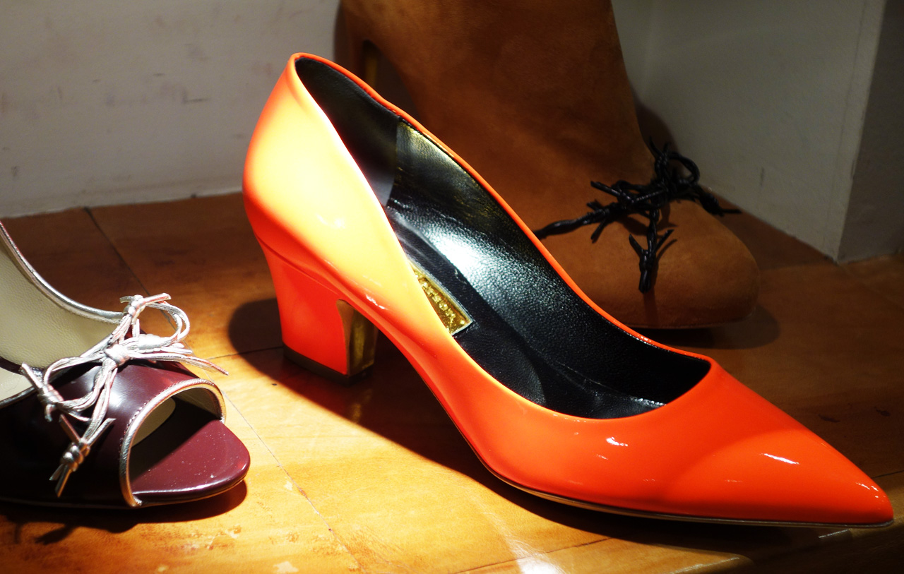 Rupert-Sanderson-Winter-2013-shoes-orange