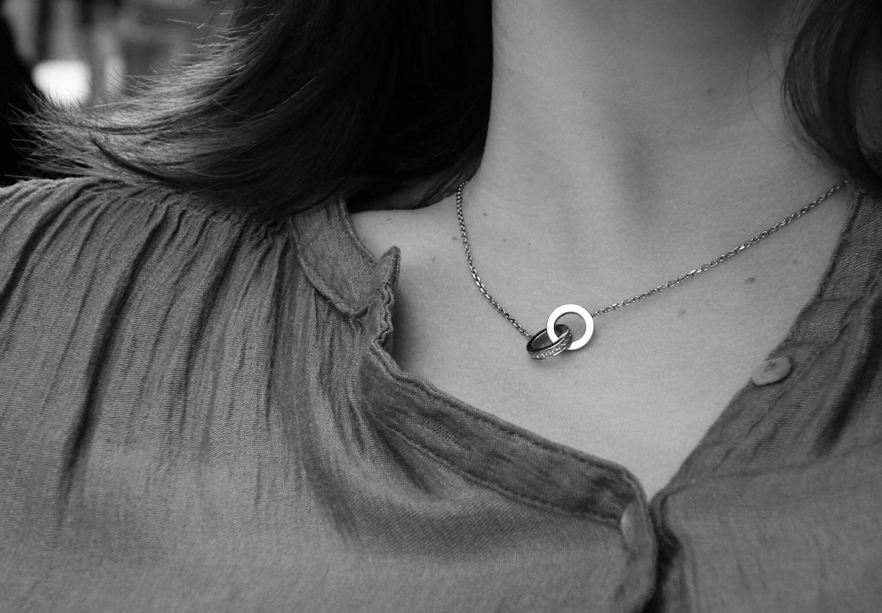 Collier-anneaux
