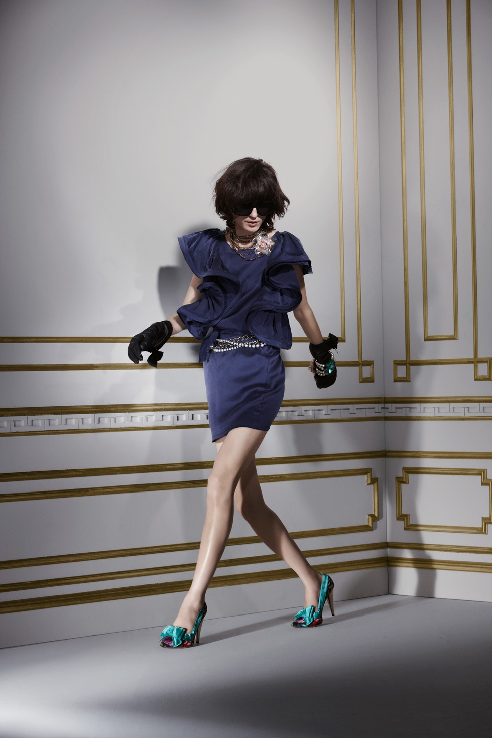 Lanvin-for-hm-robe-soie-bleue