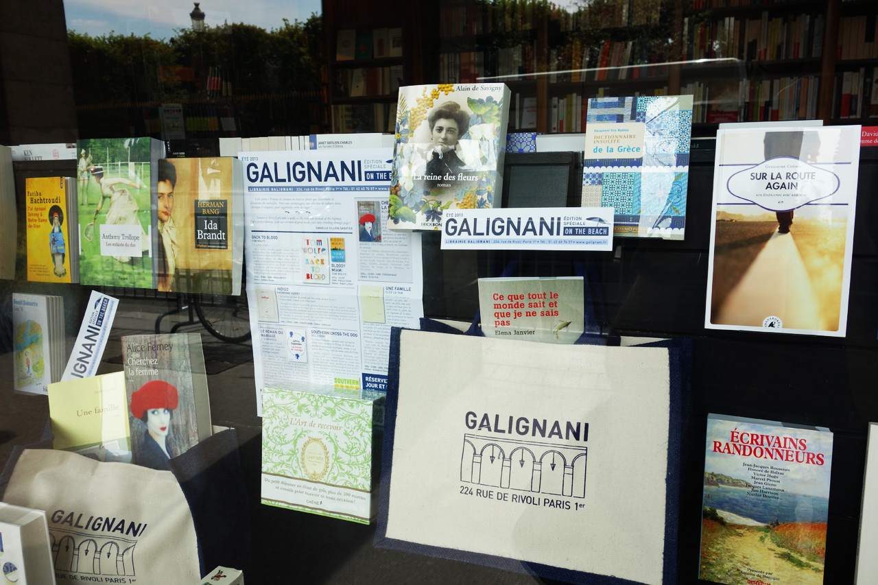Galignani-vitrine-Paris