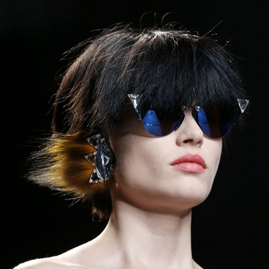 Fendi delfina delettrez earrings