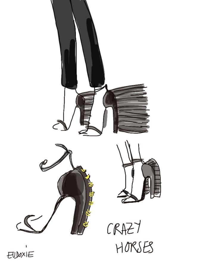horse shoes loewe
