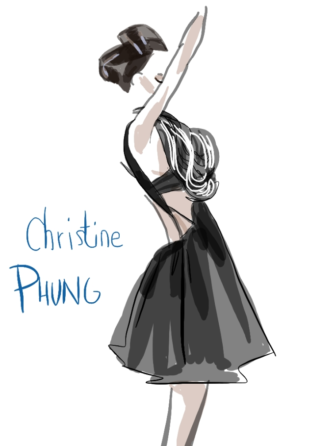 Christine Phung by Eudoxie