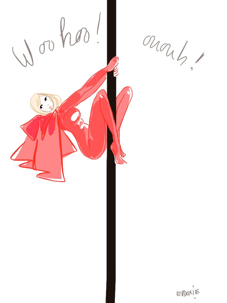 pole-woman