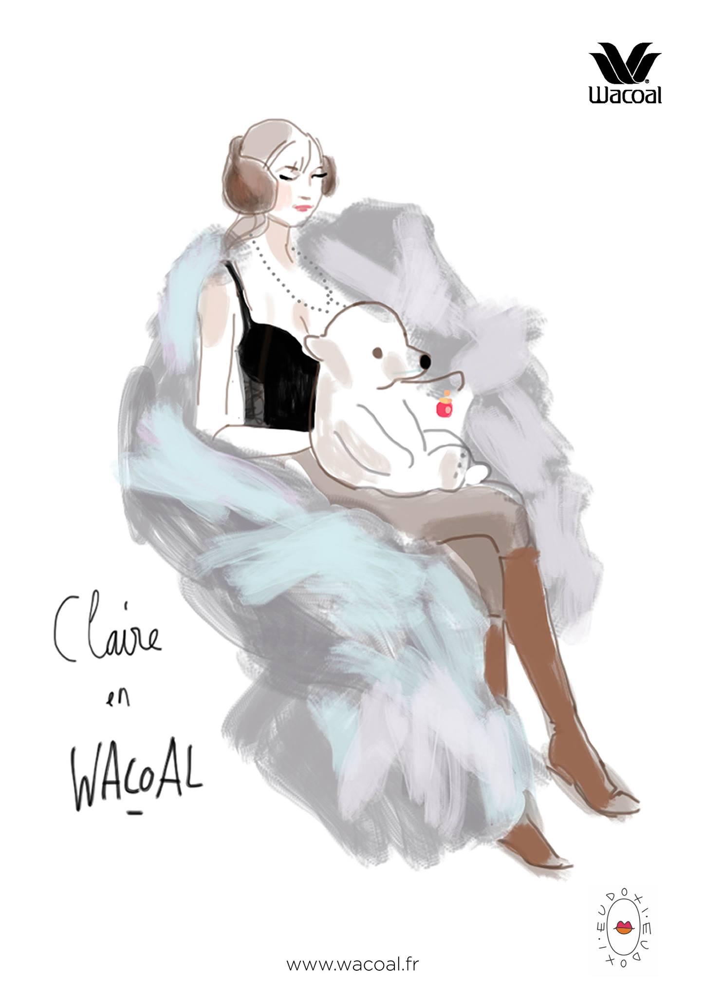 Wacoal-by-Eudoxie-Lille-Claire
