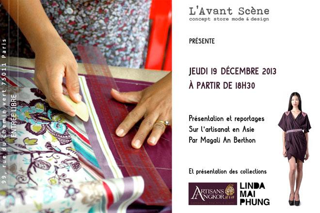 artisans_avantscene_Soirée 19 dec Artisanat Asie + Linda Mai Phung + silhouette