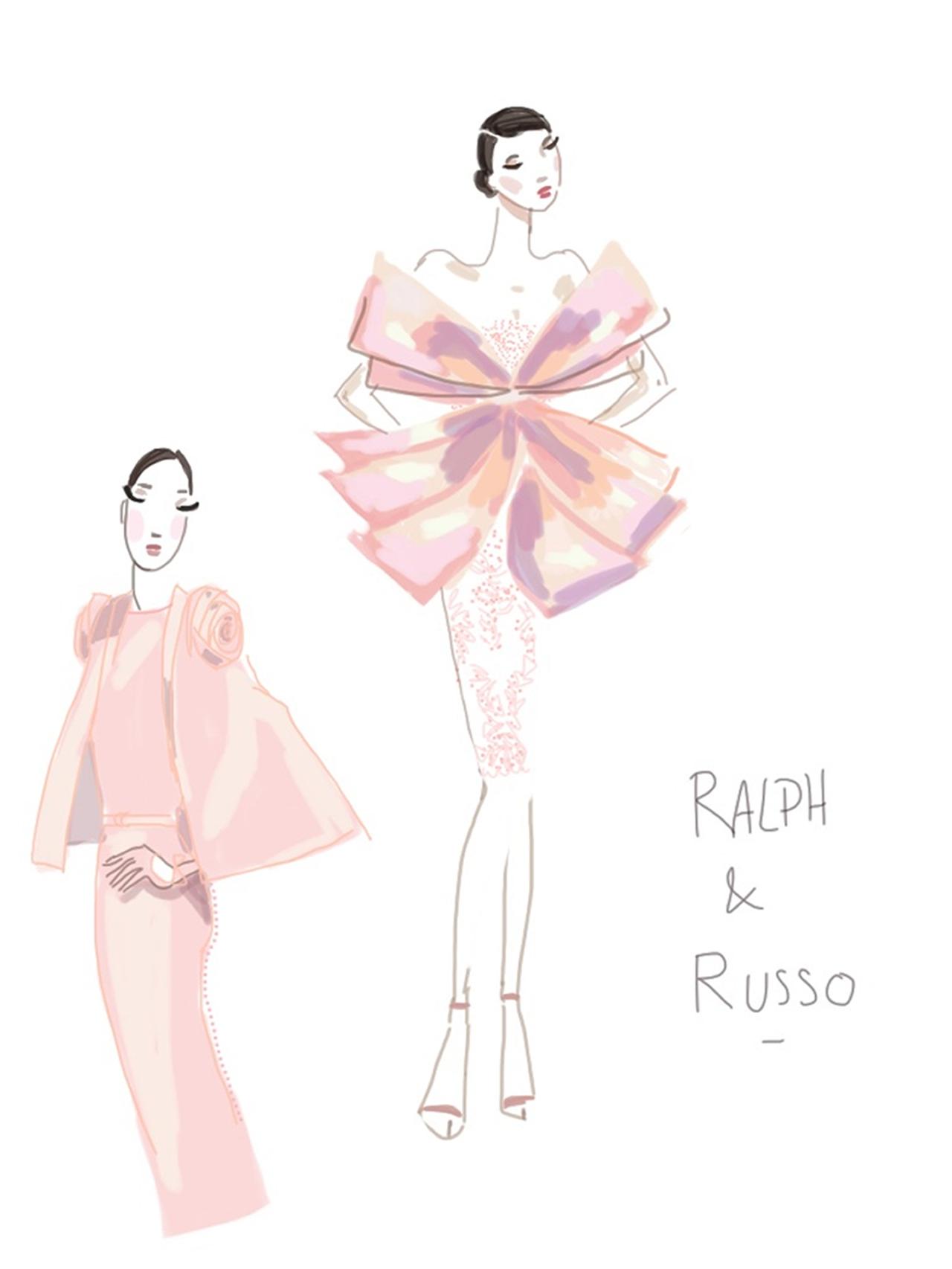 Ralph&Russo-Show sketch 3