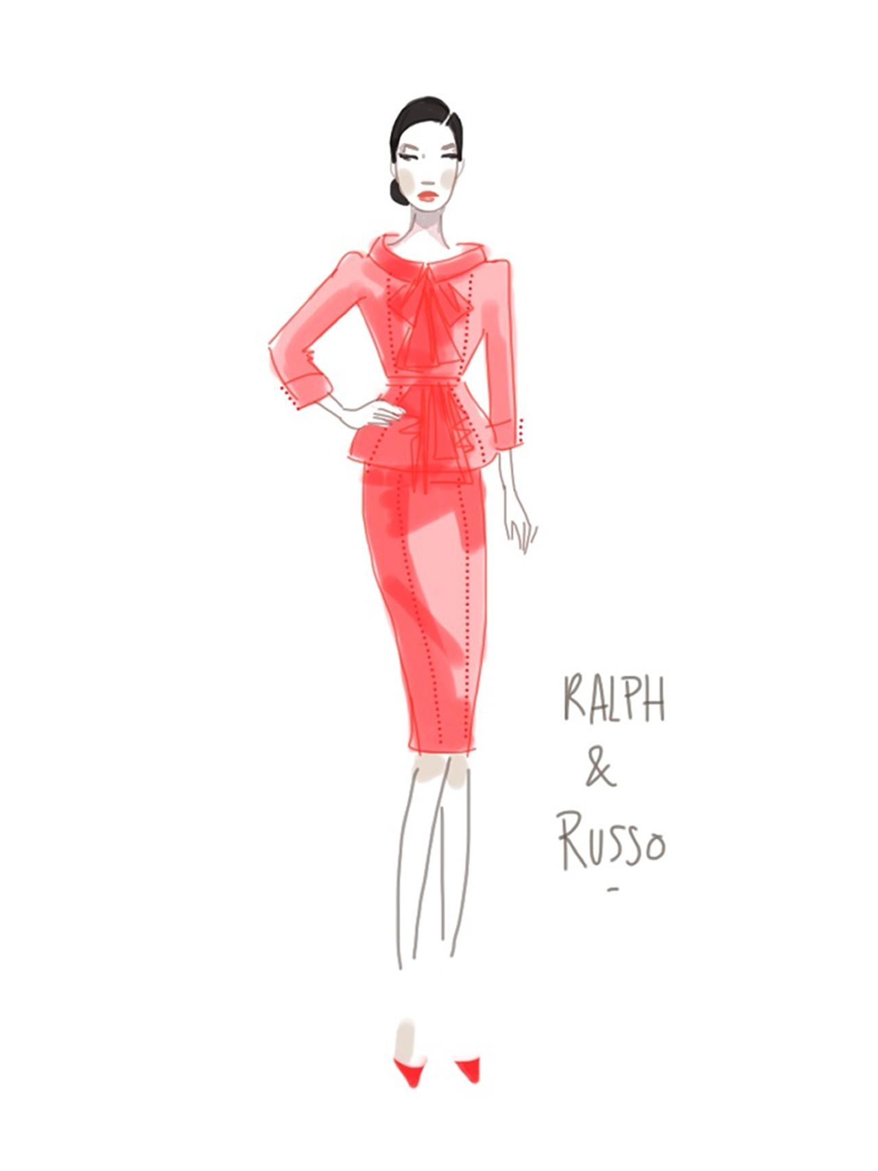 Ralph&Russo-Show sketch 4