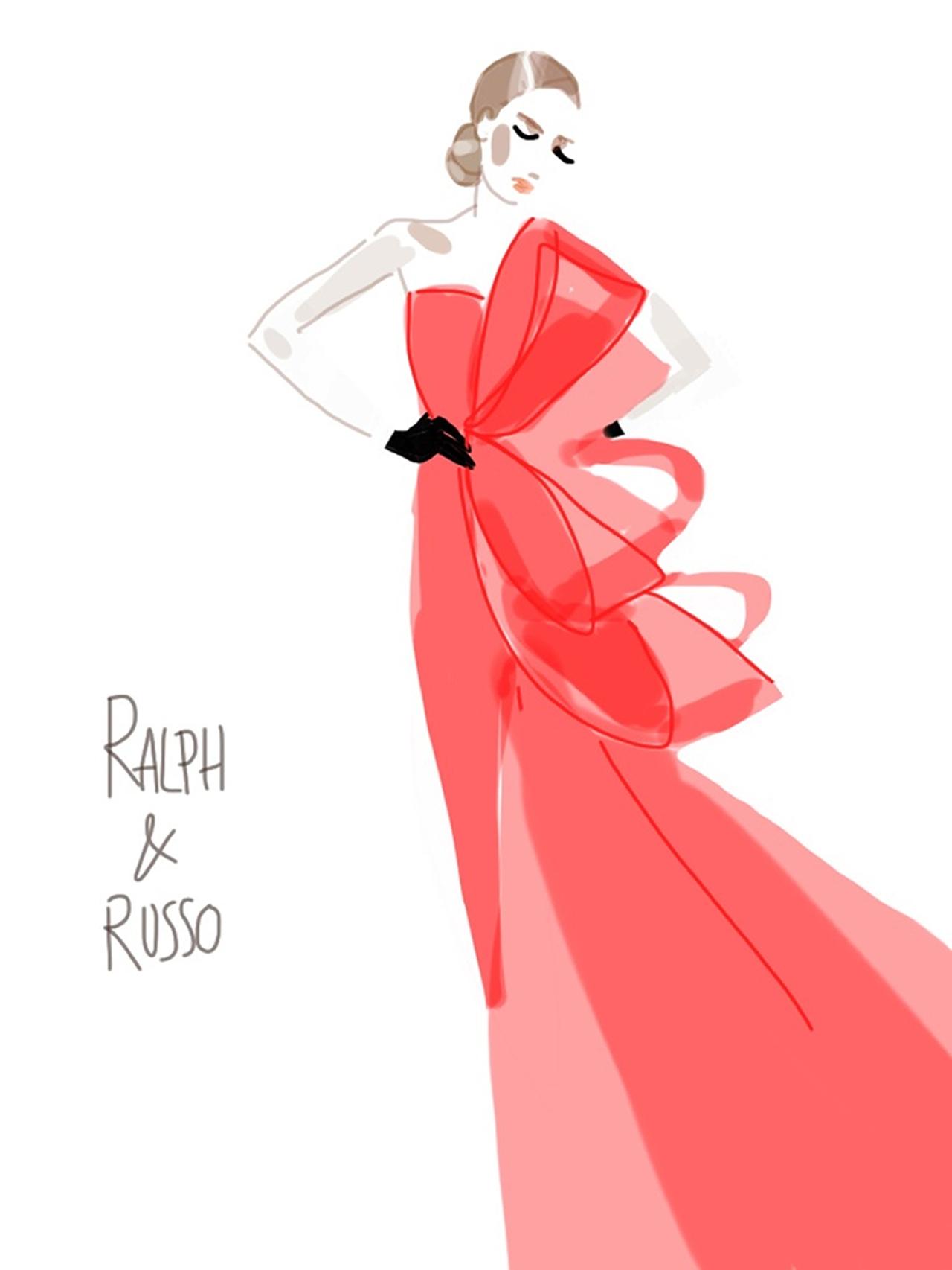 Ralph&Russo-Show sketch 5