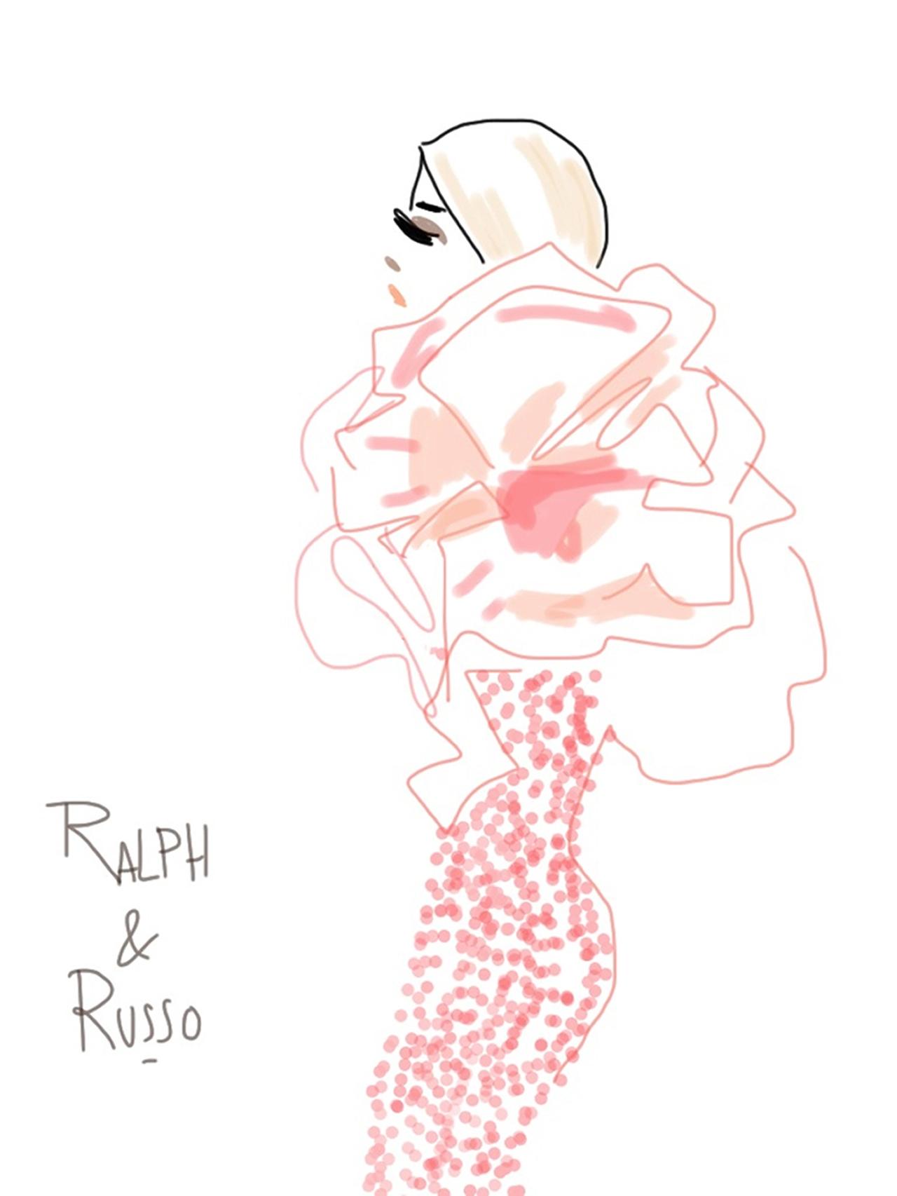 Ralph&Russo-Show sketch 6