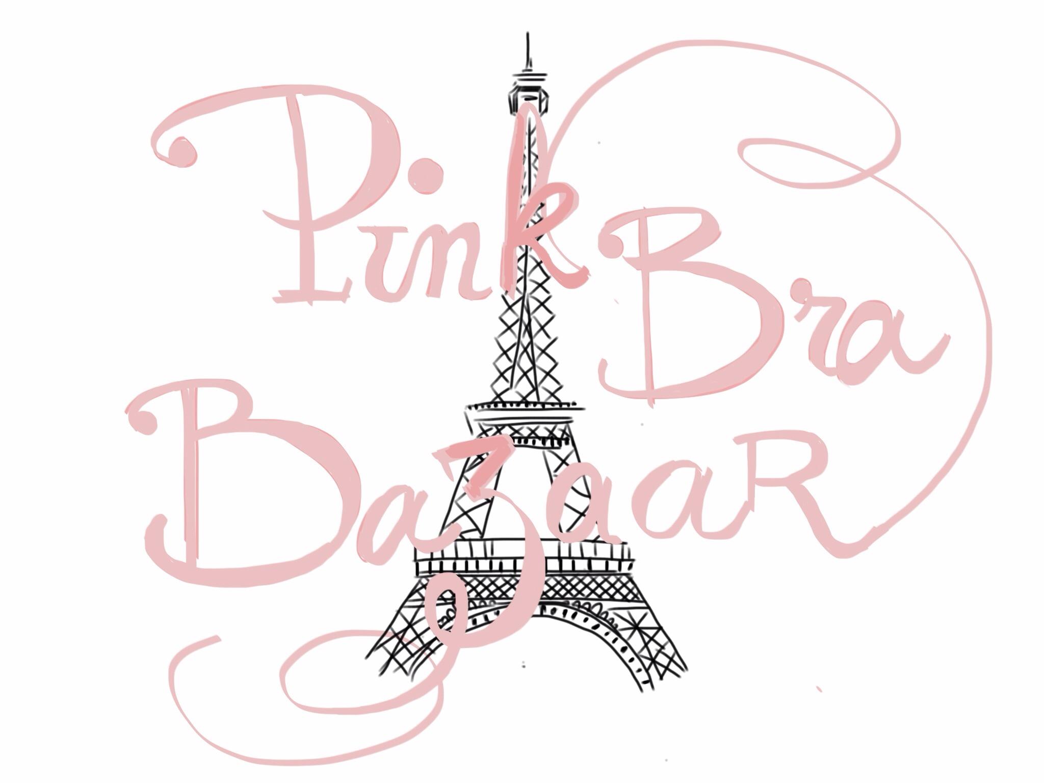 Pink bra bazaar 2014 trocadero