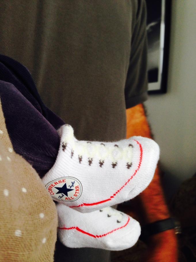 Converse-socks