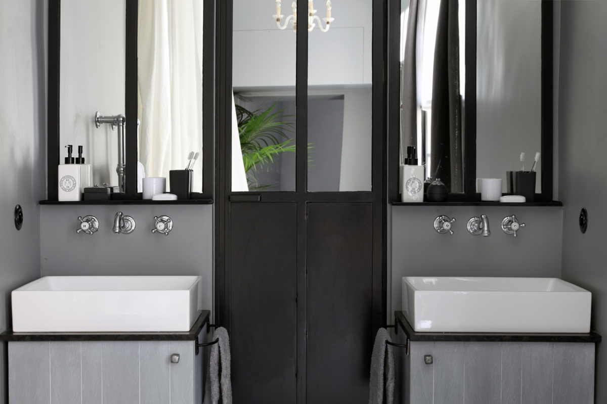 salle de bain s pour princesse s chic geek. Black Bedroom Furniture Sets. Home Design Ideas