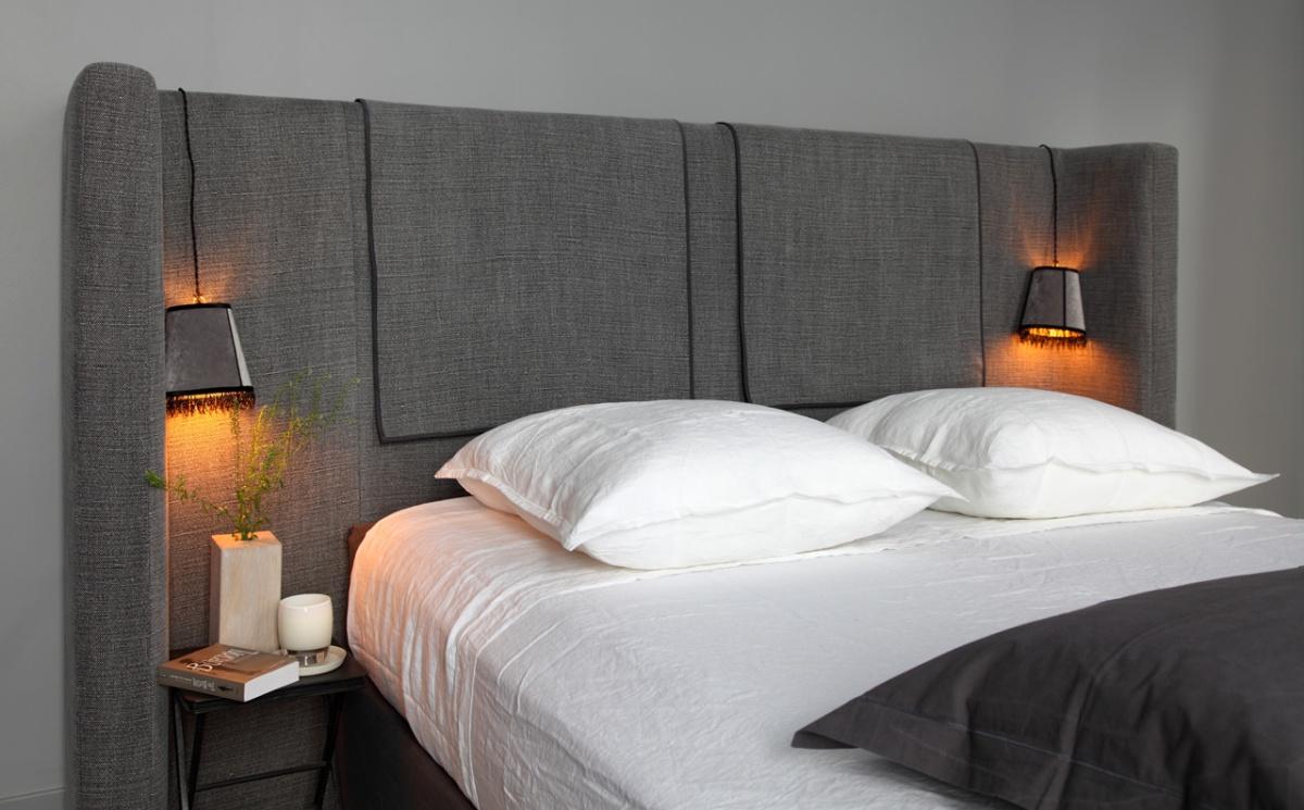 J ai test pour vous chic geek - Tete de lit avec table de chevet integre ...